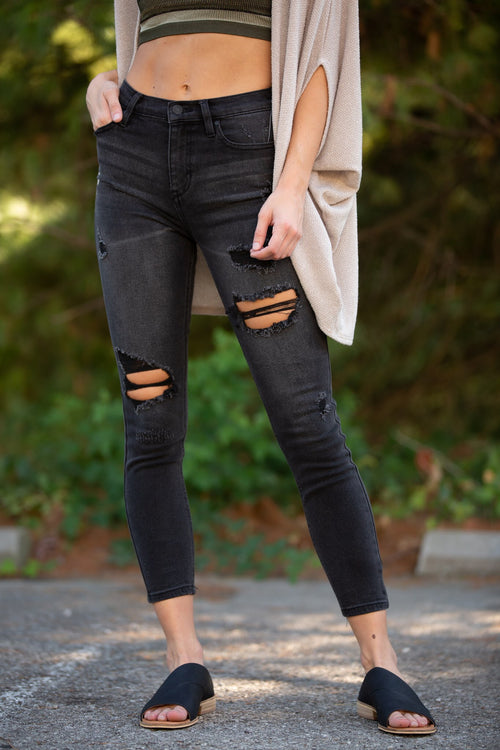 Take a Little More Black Denim - impromptu boutique