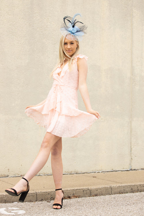 We Found Love Ruffle Dress: Pink - impromptu boutique