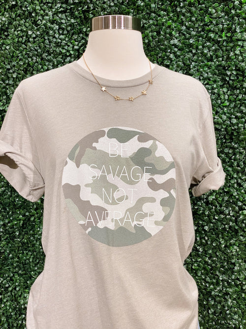Savage Not Average Graphic Tee