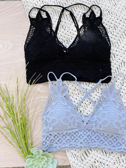 Seek and Find Lace Bralette