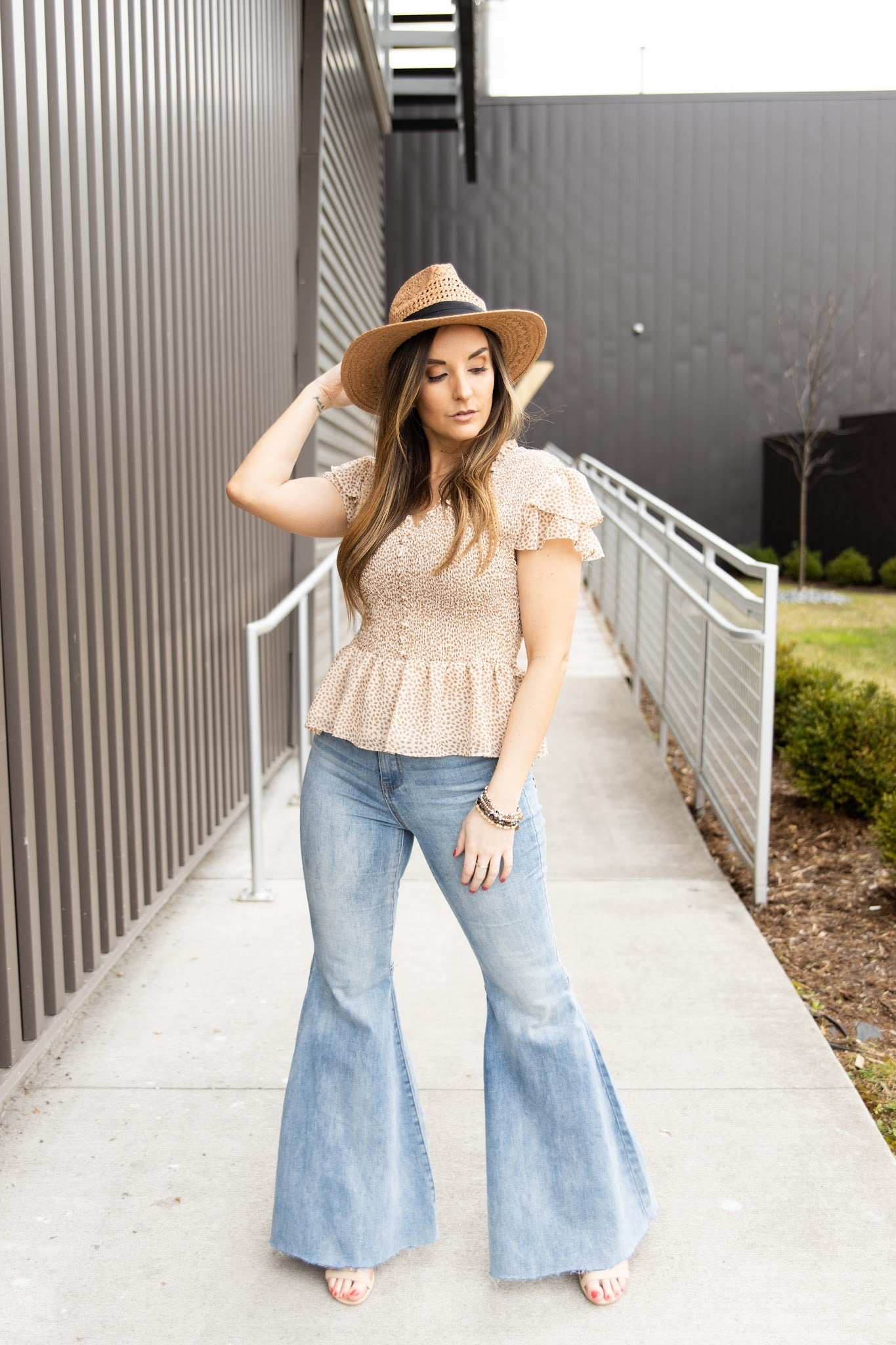 Truth Or Dare Denim Flares - impromptu boutique