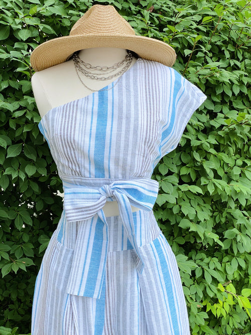 Pier Pressure Two Piece Stripe Set