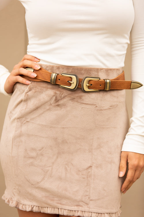 Point Of View Buckle Belt - impromptu boutique