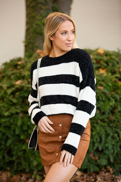 Memories Of This Stripe Sweater