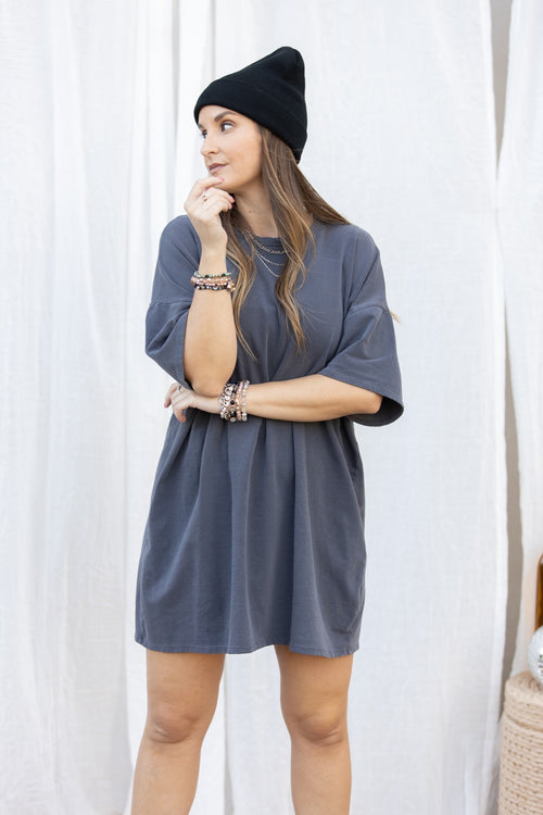 Raw Talent Oversize T-Shirt Dress