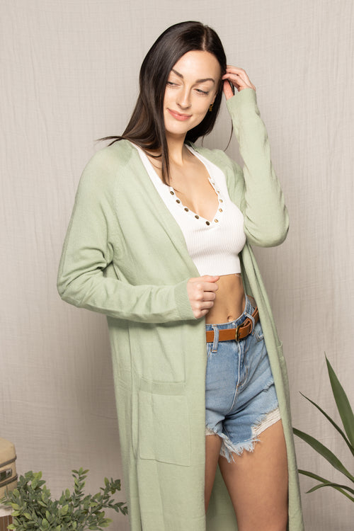 Love Of Mine Mint Cardigan - impromptu boutique