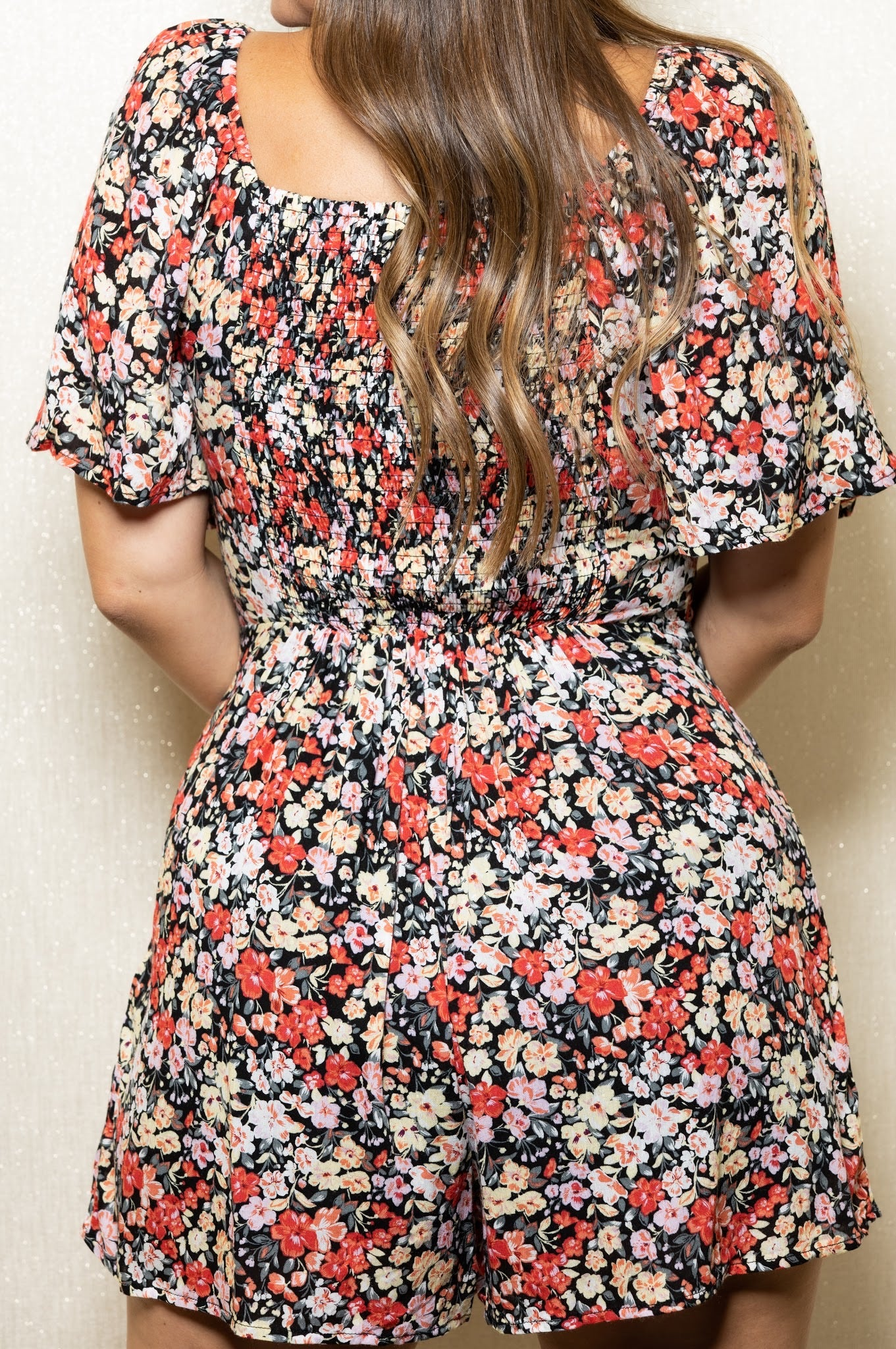 Tables Turning Floral Romper
