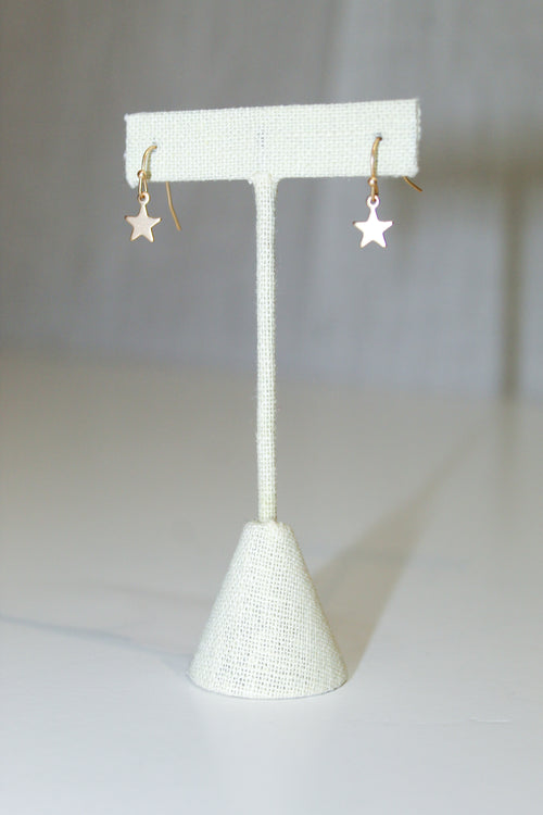 Sweet Fantasy Gold Star Earrings - impromptu boutique