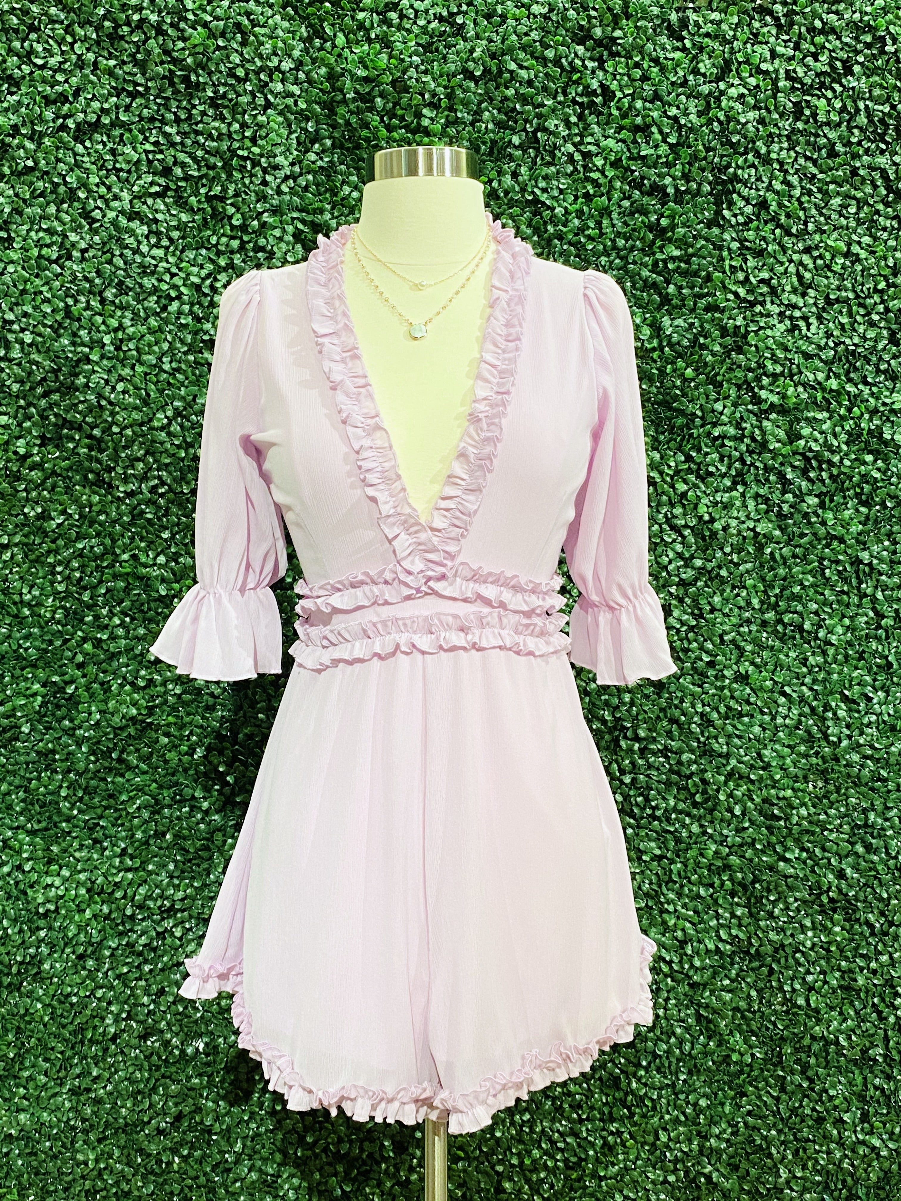 Many Reasons Lavender Romper