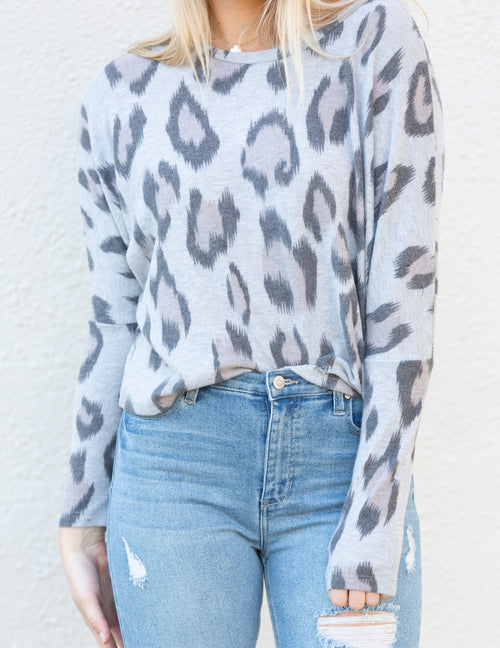 Cozy Up Cheetah Sweater