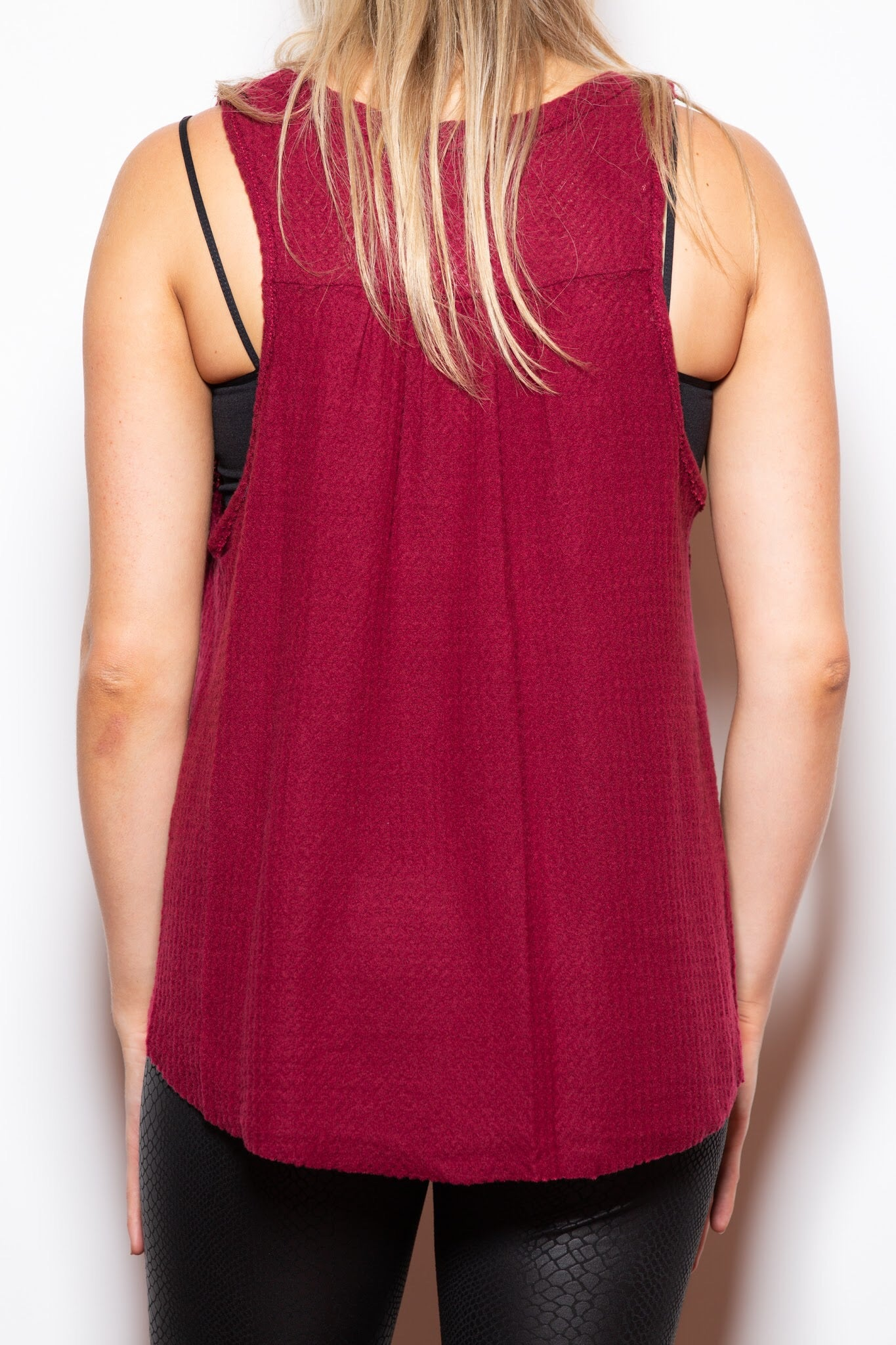 Taking Chances Knit Tank - impromptu boutique
