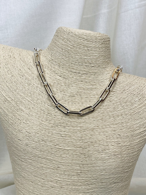 Aimee Silver Chain Necklace