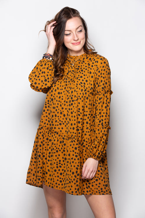 Getting Things Started Leopard Dress - impromptu boutique