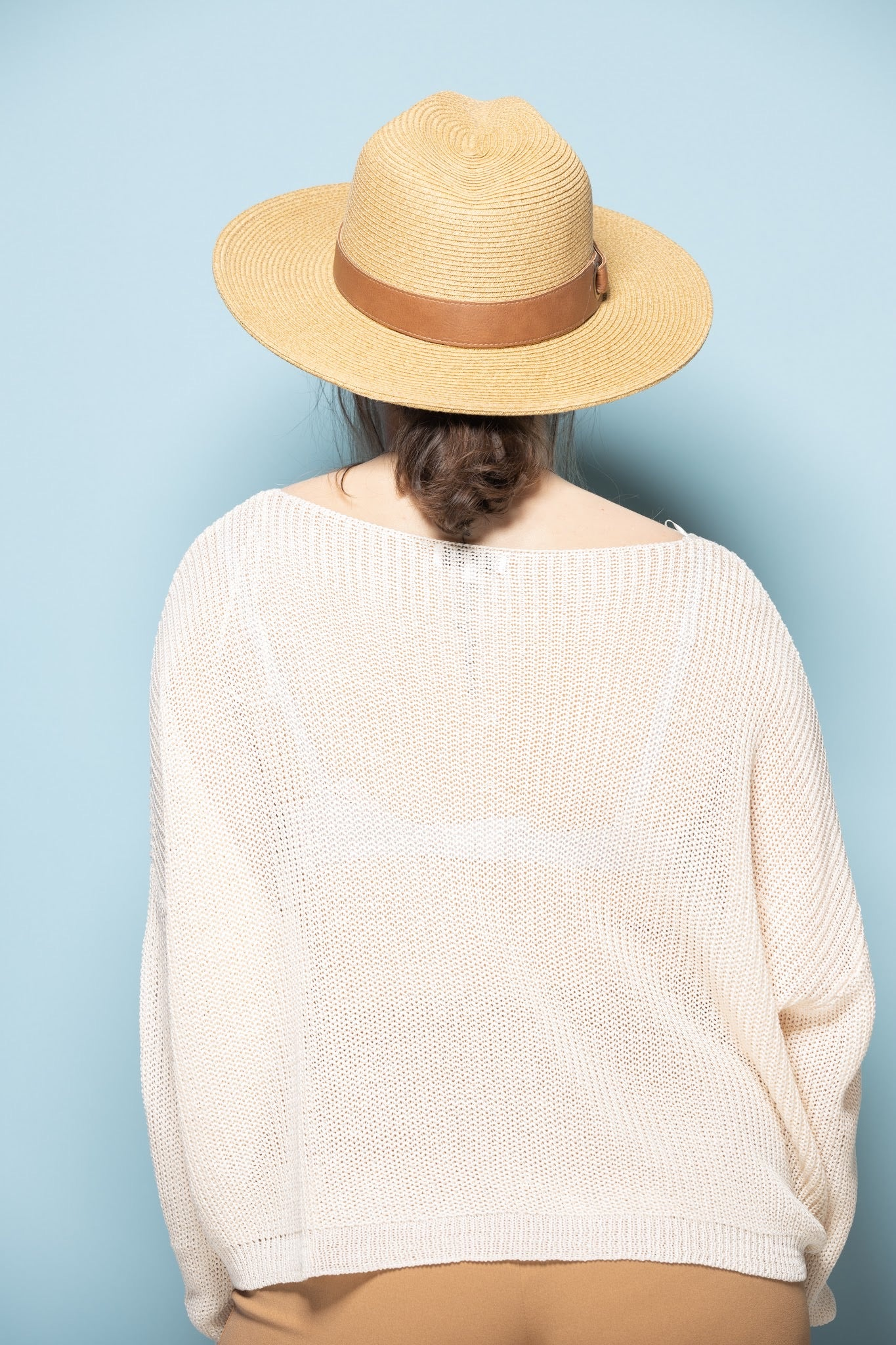 Panama Straw Hat Leather - impromptu boutique
