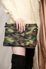 Keep It Cool Camo Puff Quilted Bag