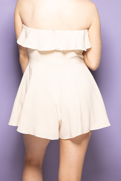Best Interest Nude Romper