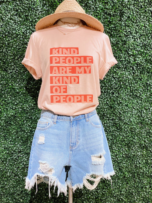 Nice People Graphic Tee - impromptu boutique
