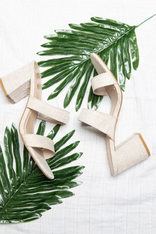 Candice Bamboo High Heel Sandals - impromptu boutique