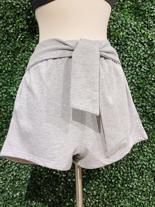 Just In Time Grey Shorts