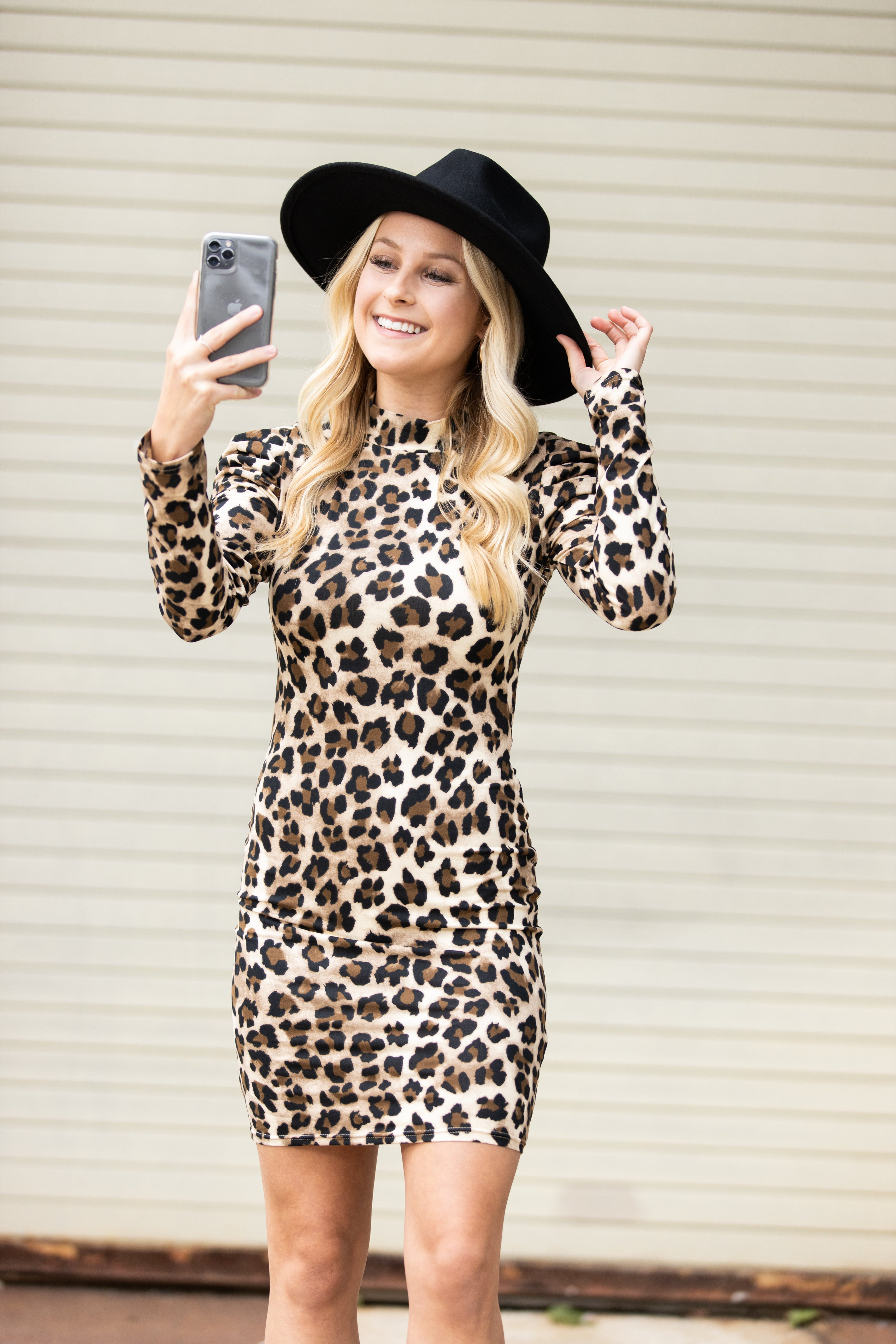 Truth Came Out Leopard Dress
