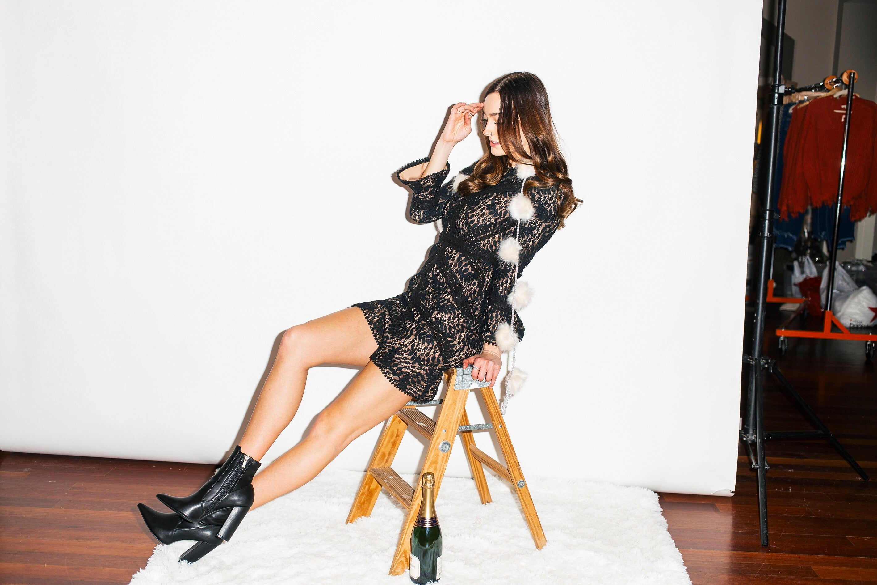 Thinking Of Me Black Lace Dress - impromptu boutique