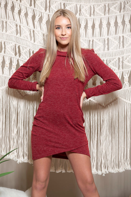 Tell Me Something Long Sleeve Dress