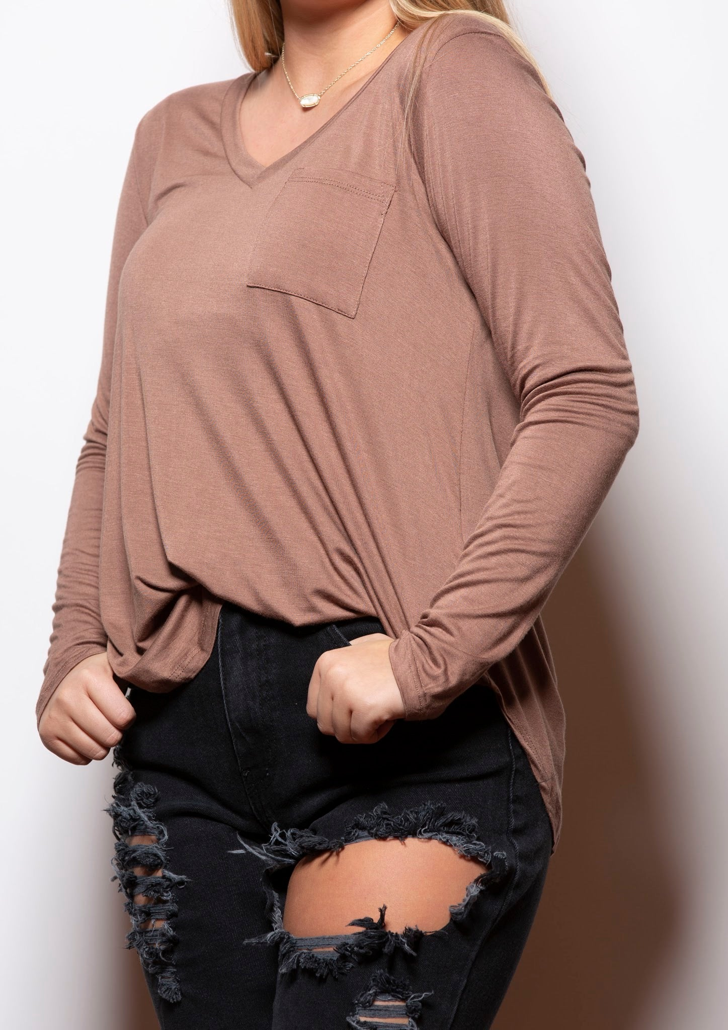 Back To Basics Long Sleeve Tee - impromptu boutique