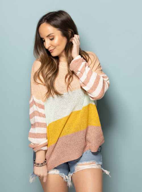 Constant Magic Colorful Sweater