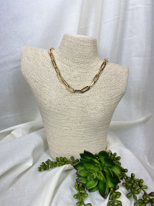 Aimee Gold Chain Necklace