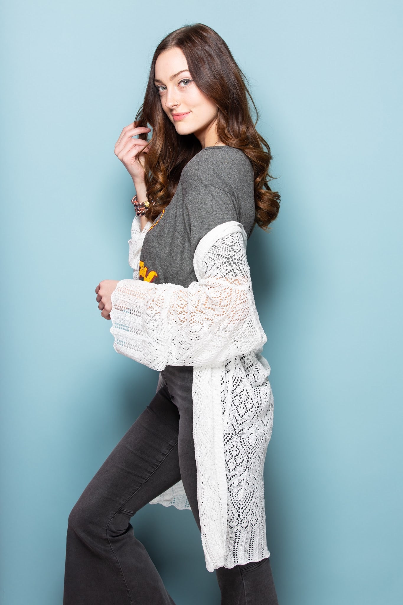 Just Stopping By Knit Cardigan: White - impromptu boutique