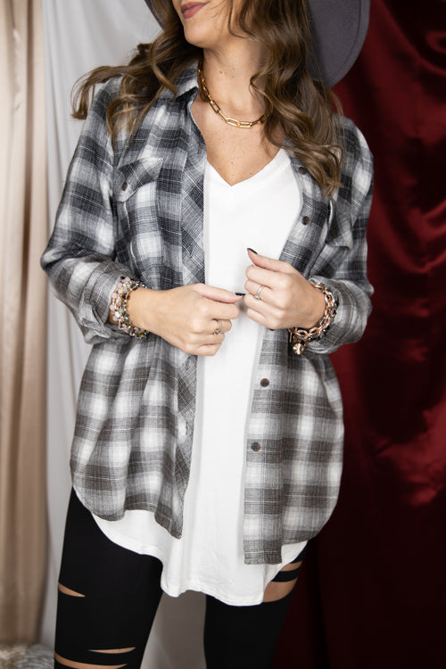 Turn Around Ombre Flannel