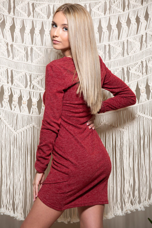 Tell Me Something Long Sleeve Dress - impromptu boutique