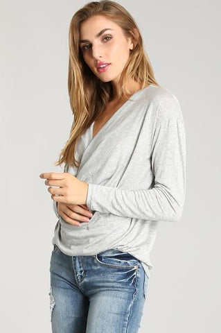 Small Town Girl Cold Shoulder Top