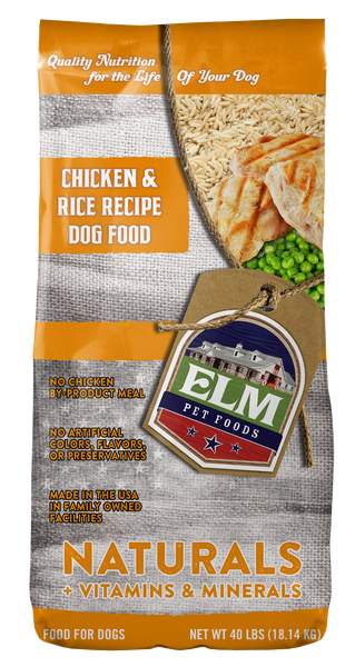 Naturals Chicken & Rice Recipe Dog Food