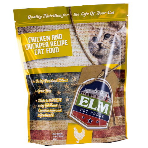 Chicken & Chickpea Cat Food 3 lb.