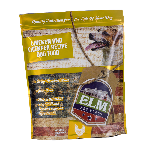Chicken & Chickpea Dog Food 3 lb.