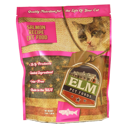 Salmon Cat Food 3 lb.