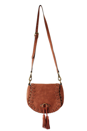 Sevilla Saddle Bag in Desert Varnish