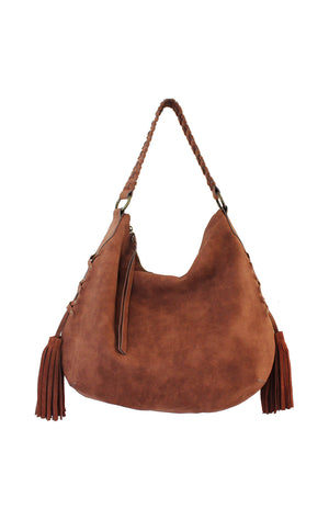 Sevilla Fringe Hobo in Desert Varnish
