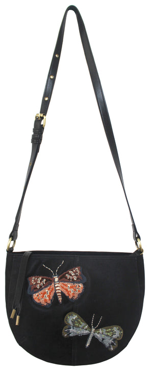 Marquesas Crossbody in Charcoal