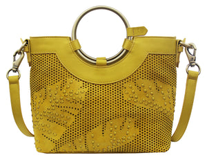 Palm Highway Ring Satchel in Canary
