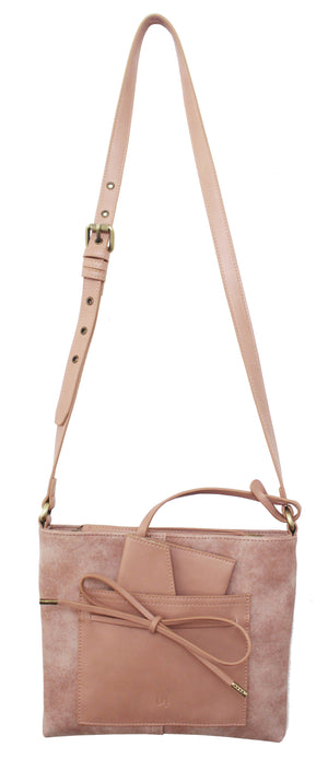 Palm Highway Passport Crossbody in Rose