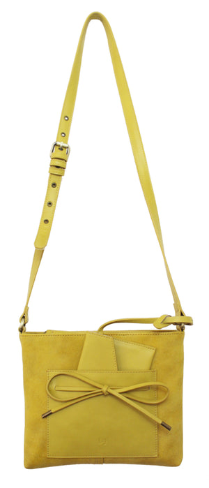 Palm Highway Passport Crossbody in Canary