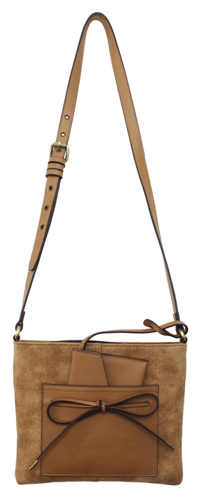 Palm Highway Passport Crossbody in Tan