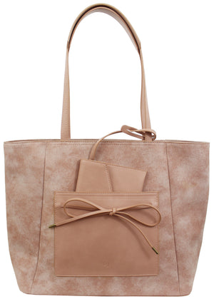 Palm Highway Tote in Rose