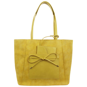 Palm Highway Tote in Canary