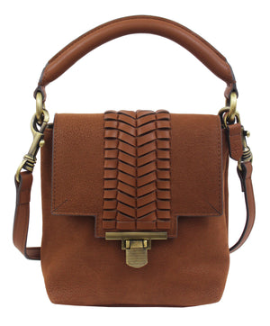 Marquesas Mini Satchel in Tan