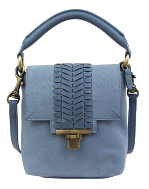 Marquesas Mini Satchel in Blue