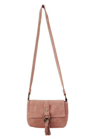 WILDLEDER CROSSBODY IN BLUSH