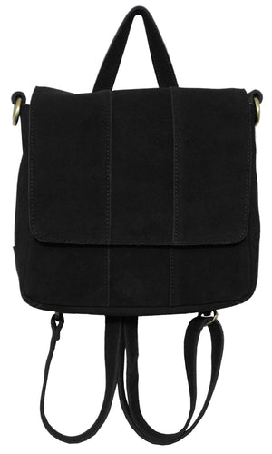 Alamo Convertible Backpack in Black